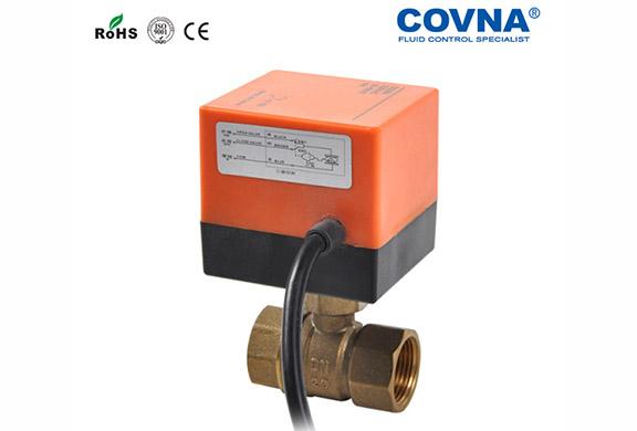 空调专用黄铜电动球阀