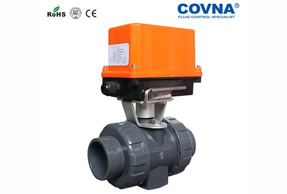 酸碱性流体PVC电动阀