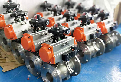 调节型气动阀门的构造和运行原理
