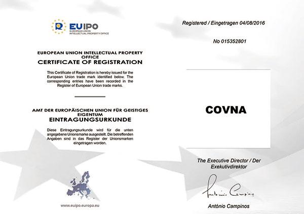 欧盟认证证书